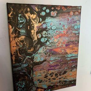 "Acrylic Painting 11"" x 14"""
